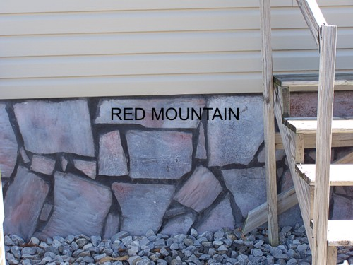 Red Mountain Mobile Home Skirting
