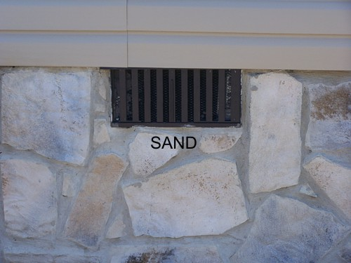 Sand Mobile Home Skirting